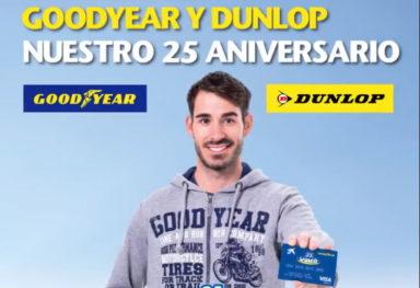 Vulco celebra con Goodyear y Dunlop su 25º aniversario